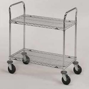 Stainless Steel Wire Cart | 1-800-Nursery.com